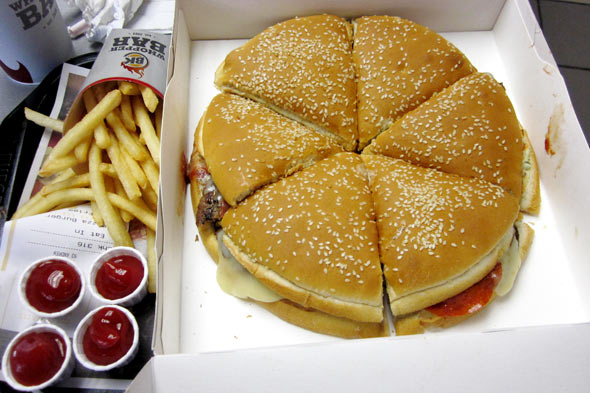 pizza burger burger king2