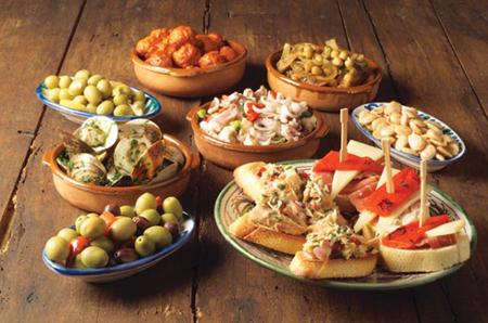 Algunas de las tapas que se pueden encontrar en Almería