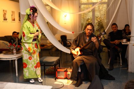 Concierto música tradicional KoreKara Japón